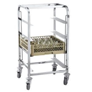 chariot pour paniers de lave vaisselle 50x50 cm 4 niveaux id al pour le transport et le stocka. Black Bedroom Furniture Sets. Home Design Ideas