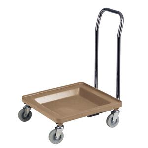 chariot pour transport et rangement de paniers de lave vaisselle avec poign e couleur beige mat. Black Bedroom Furniture Sets. Home Design Ideas