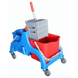 chariot de lavage 2x22 lt avec presse plat materiel polypropylene et aluminium anodiz c. Black Bedroom Furniture Sets. Home Design Ideas